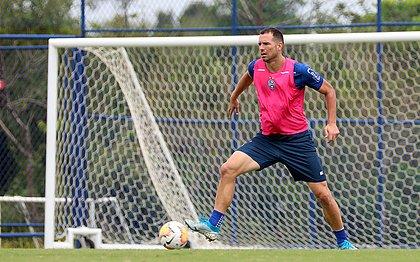 Lucas Fonseca deve voltar ao time do Bahia no confronto com o Grêmio, quarta-feira (6), em Porto Alegre