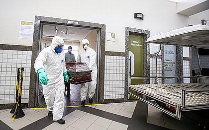 Bahia registra 189 mortes pela covid em 24h, novo recorde de toda a pandemia