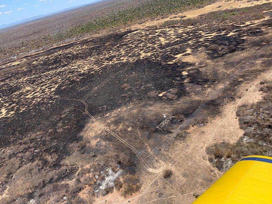 Corpo de Bombeiros diz que incêndio em Barra está próximo de ser controlado