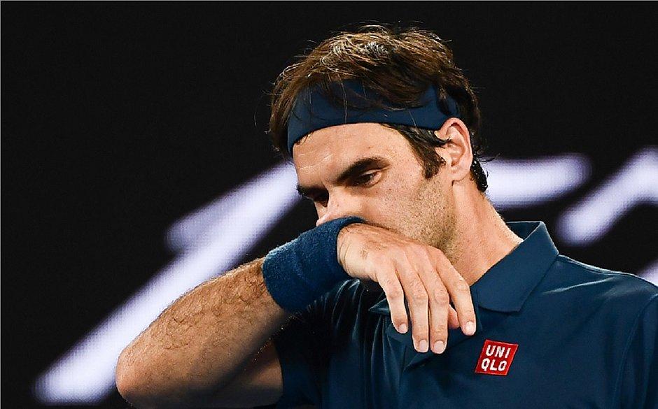 Federer sofre virada e é eliminado do Aberto da Austrália