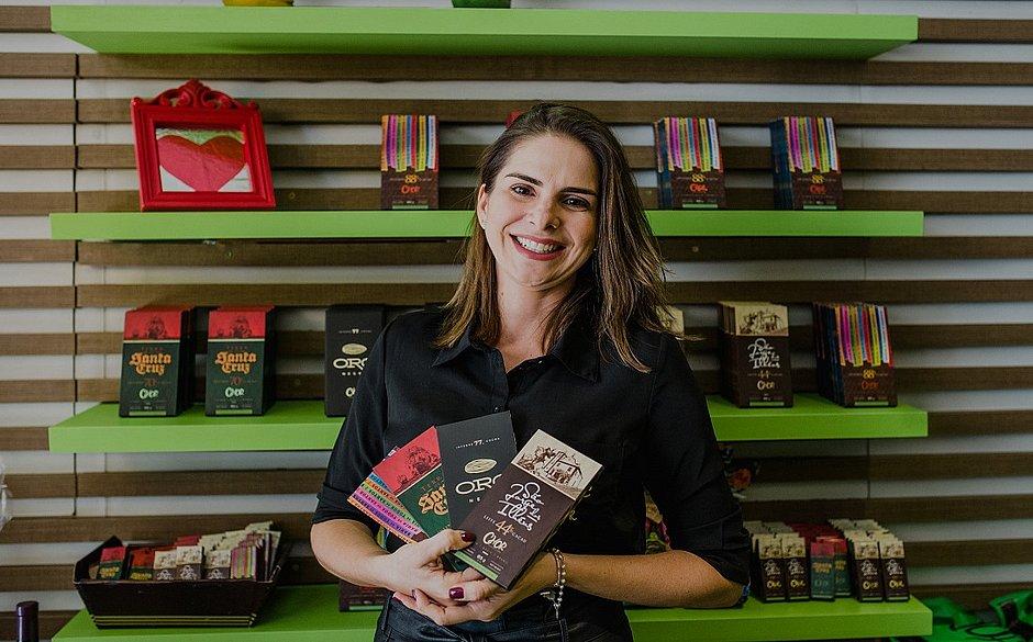 A chocolatièr Luana Lessa começou fazendo brigadeiro para vender na escola até conquistar espaço no mercado de chocolate finos