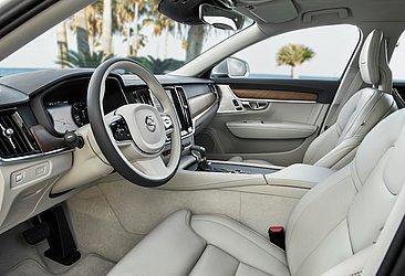 A cabine do Volvo S90 foi criada por Tisha Johnson