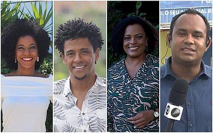 Além de Aldri Anunciação (segunda foto da esquerda para direita) o Conversa Preta terá a participação das jornalistas Luana Assiz, Georgina Maynart e de Vanderson Nascimento