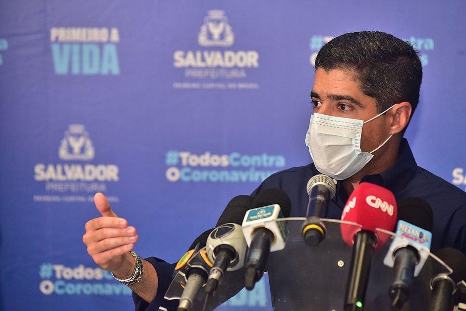 Neto diz que vai recorrer de decisão que proíbe leitos para covid no Hospital Salvador