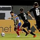 Rossi, em lance da partida do Bahia contra o Montevideo City Torque
