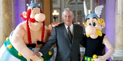 Albert Uderzo, criador de Asterix e Obelix, morre aos 92 anos