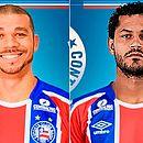 Volantes Nilton e Élton são oficializados pelo Bahia