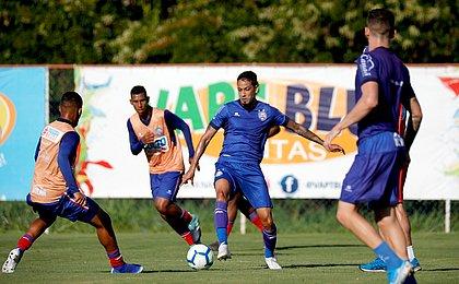 Bahia se reapresenta com jogo-treino entre reservas e sub-20
