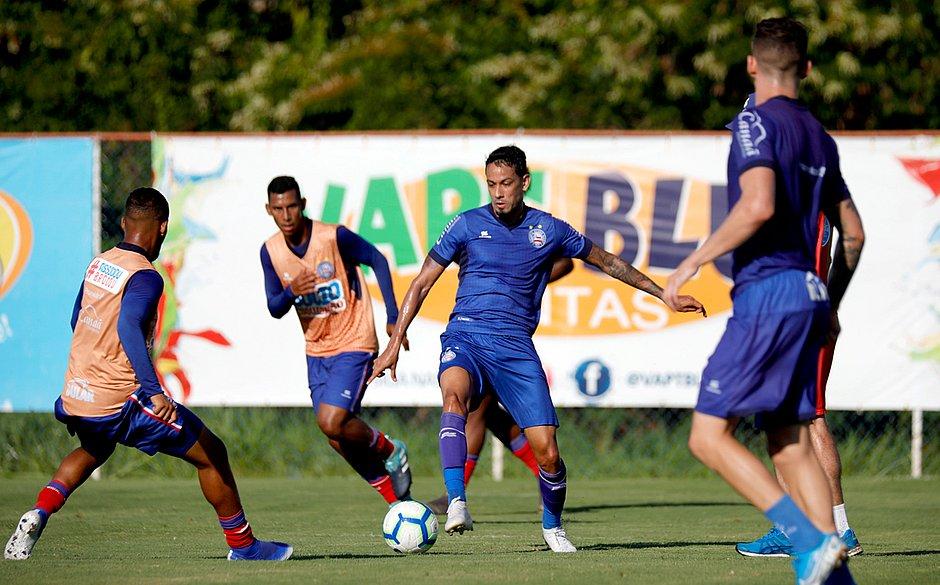 Bahia se reapresenta com jogo-treino entre reservas e sub-20 - Jornal CORREIO   Notícias e ...