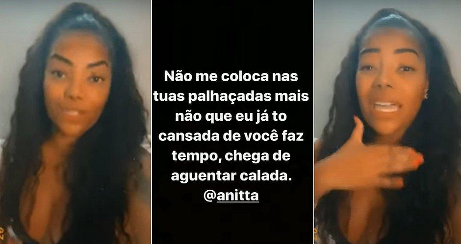 Ludmilla pede para Anitta deixá-la em paz: 'Cansada de você faz tempo'