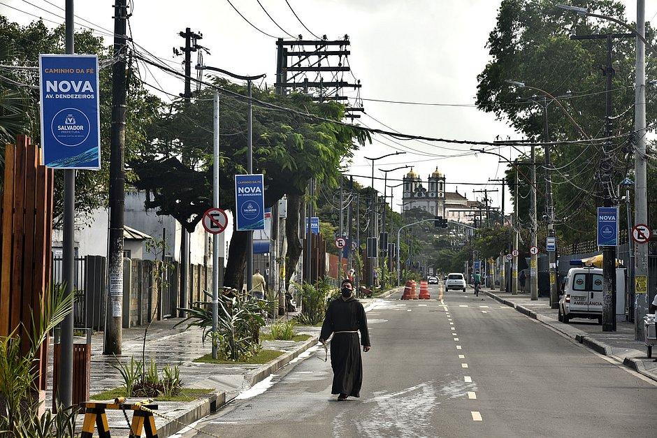 Caminho da Fé é inaugurado com homenagens em Salvador