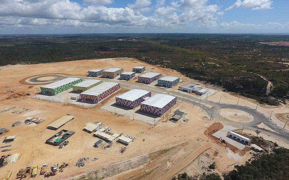 Cimatec Industrial, em Camaçari, está em fase final de obras e deve ter primeira etapa inaugurada em julho