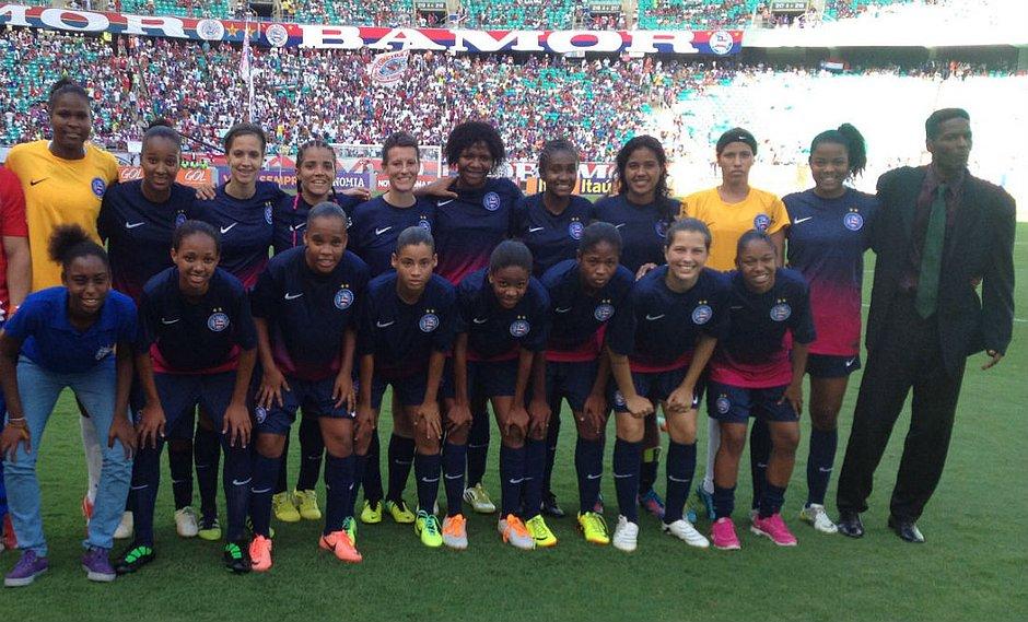 Bahia lançará time de futebol feminino em novembro - Jornal CORREIO ... 0ad4e7bfca339