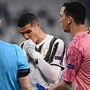 Cristiano Ronaldo, durante jogo contra o Porto: mais uma eliminação da Juventus na Champions