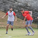 Vitória voltou aos treinamentos nesta quinta-feira (1º), na Toca do Leão