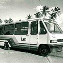 Primeiro ônibus adquirido pela LM para transporte de pessoal