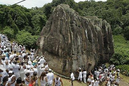 Ministério Público vai ser chamado para intervir em agressão à Pedra de Xangô