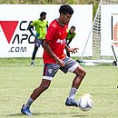 Meia Soares marcou três gols com a camisa do Vitória nesta temporada
