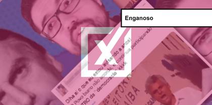 É enganoso vídeo que denuncia suposta fraude nas urnas em João Pessoa