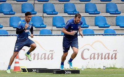 Com Germán Conti suspenso, Lucas Fonseca disputa posição de titular no Bahia