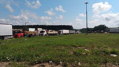 Bahia ainda registra pontos de manifestações de caminhoneiros em rodovias