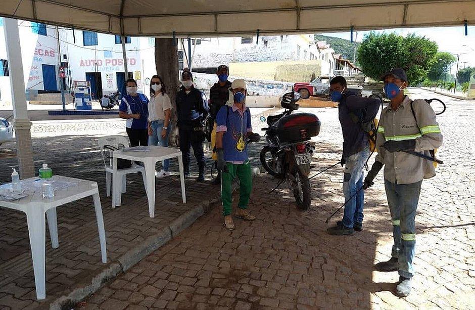 O município de Érico Cardoso ainda não possui nenhum caso de covid-19