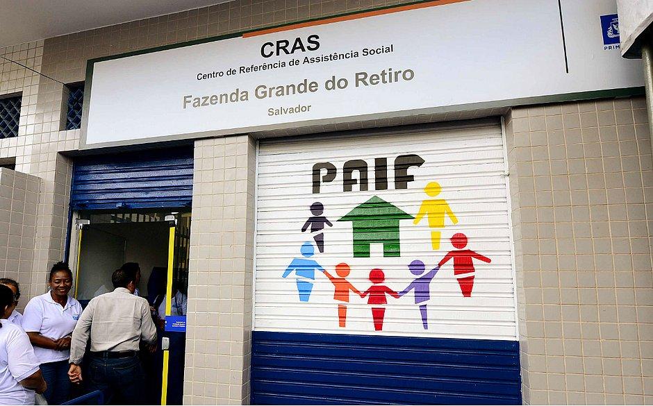 Unidade do Cras em Fazenda Grande do Retiro é entregue revitalizada