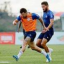 Entrada de Rossi no time titular é uma das possibilidades do Bahia para o clássico contra o Vitória