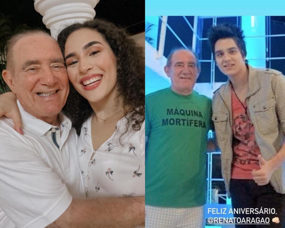 Renato Aragão ganha homenagem de famosos no aniversário de 86 anos