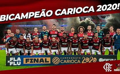Flamengo volta a bater o Fluminense e conquista 36º título do Cariocão