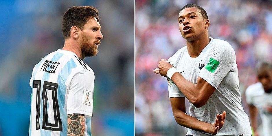 14c4a142deeae Primeiro duelo entre campeãs está definido  França x Argentina ...