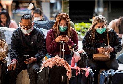 Coronavírus já circula em 17 países, segundo OMS