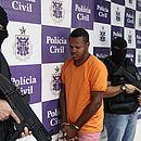 João Paulo Moreira é apresentado pela Polícia Civil como suspeito de feminicídio