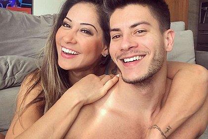 Oito dias após anunciar volta, Mayra Cardi termina de novo com Arthur Aguiar