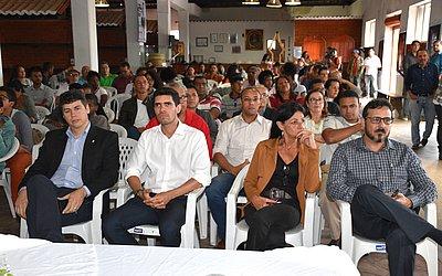 Público foi conferir o evento