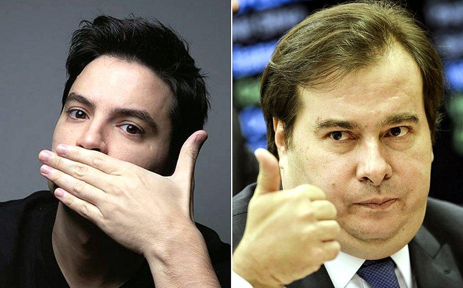 Felipe Neto aceita convite de Rodrigo Maia para discutir PL das fake news