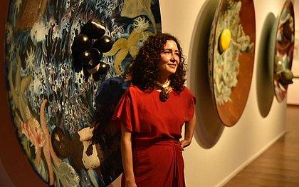 Adriana traz a exposição chama de Retórica Canibal
