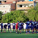 Grupo do Bahia se reúne com técnico Enderson moreira