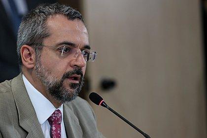 Governo federal retifica data de exoneração de Abraham Weintraub