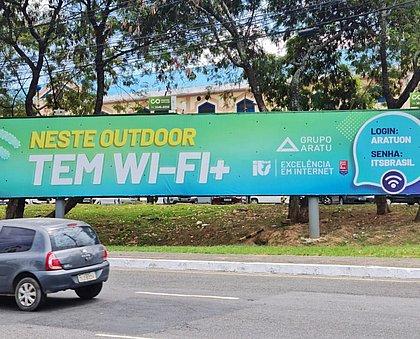 Outdoor no Imbuí oferece internet gratuita