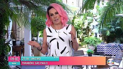 Ana Maria brinca sobre entrevista com eliminado do 'BBB': 'Quarta eu não venho'