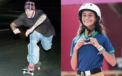 Filho diz que Chorão torcia por Rayssa, mas cantor morreu antes de Fadinha andar de skate
