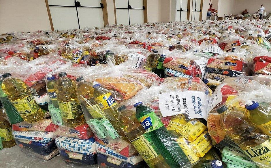 Veja cronograma de entrega de cestas básicas para alunos da rede municipal