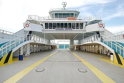 Sistema ferry-boat tem horários escalonados a partir desta terça-feira; confira