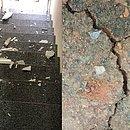 Imóveis do município de Mutuípe tiveram rachaduras após o tremor de terra