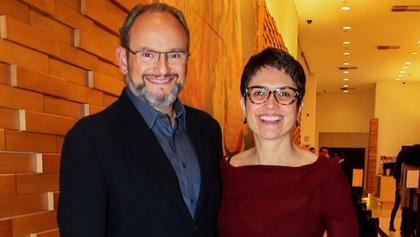 Sandra Annenberg comemora de 25 anos de casamento com Ernesto Paglia