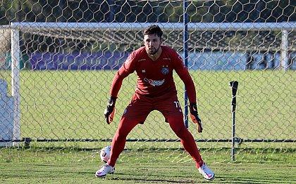 Mateus Claus será o titular do Bahia contra o Montevideo City Torque