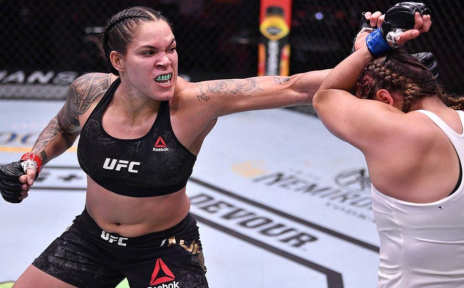 Amanda Nunes vence Felicia Spencer no UFC 250 e mantém cinturão