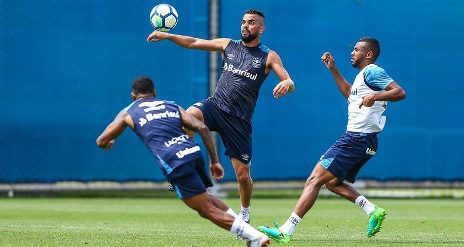 Volante Maicon é um dos principais jogadores do Grêmio na temporada