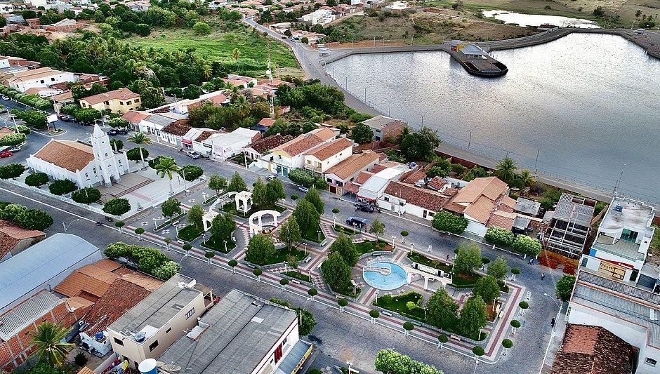 A cidade de Candiba